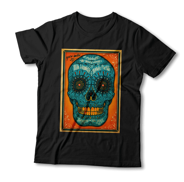 "Tricou ""Day Of The Dead"""